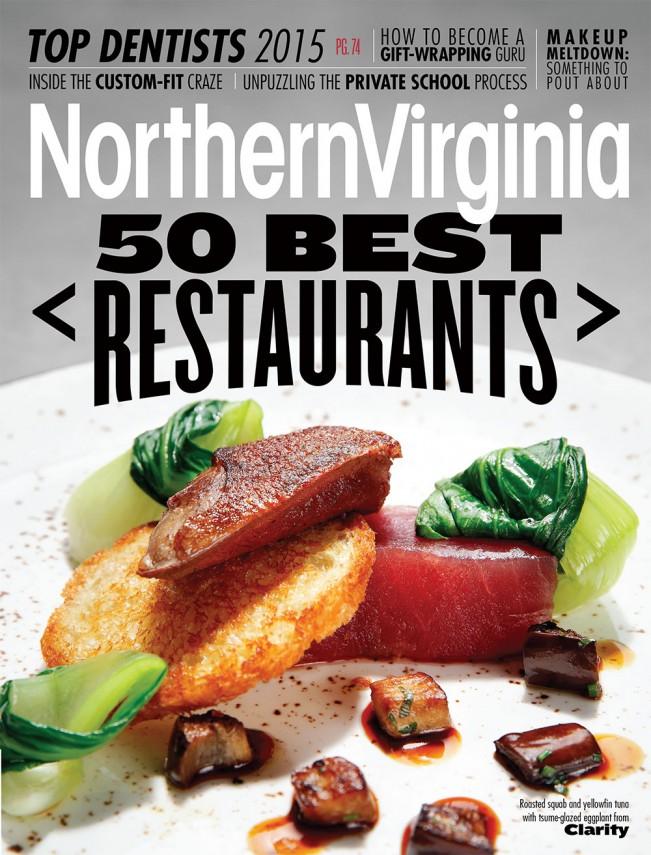 Press Northern Virginia Magazine 50 Best Restaurants 2017